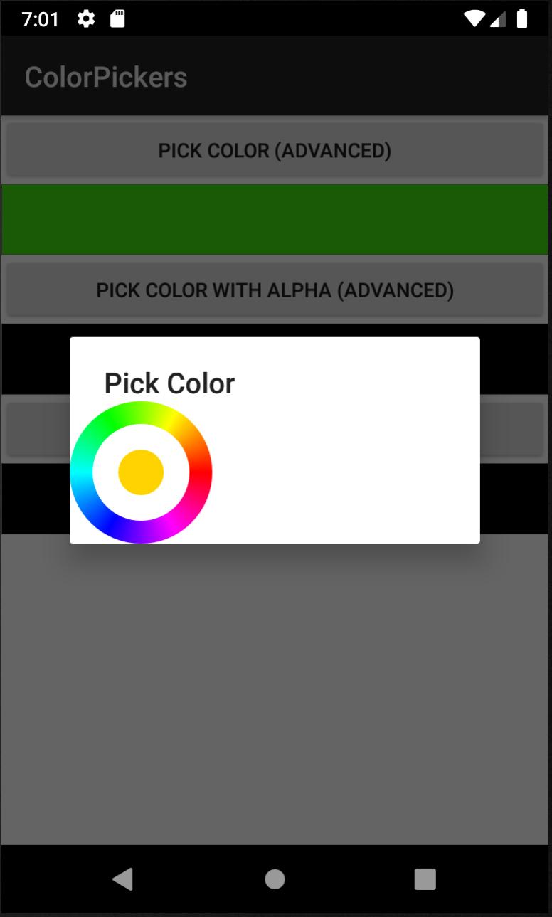 Round Color Picker